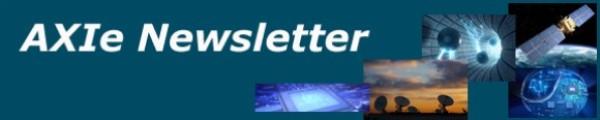 AXIe newsletter banner